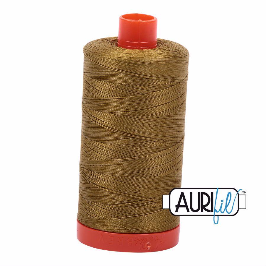 Aurifil Cotton 50wt, 2910 Medium Olive