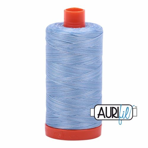 Aurifil Cotton 50wt, 3770 Stone Washed Denim