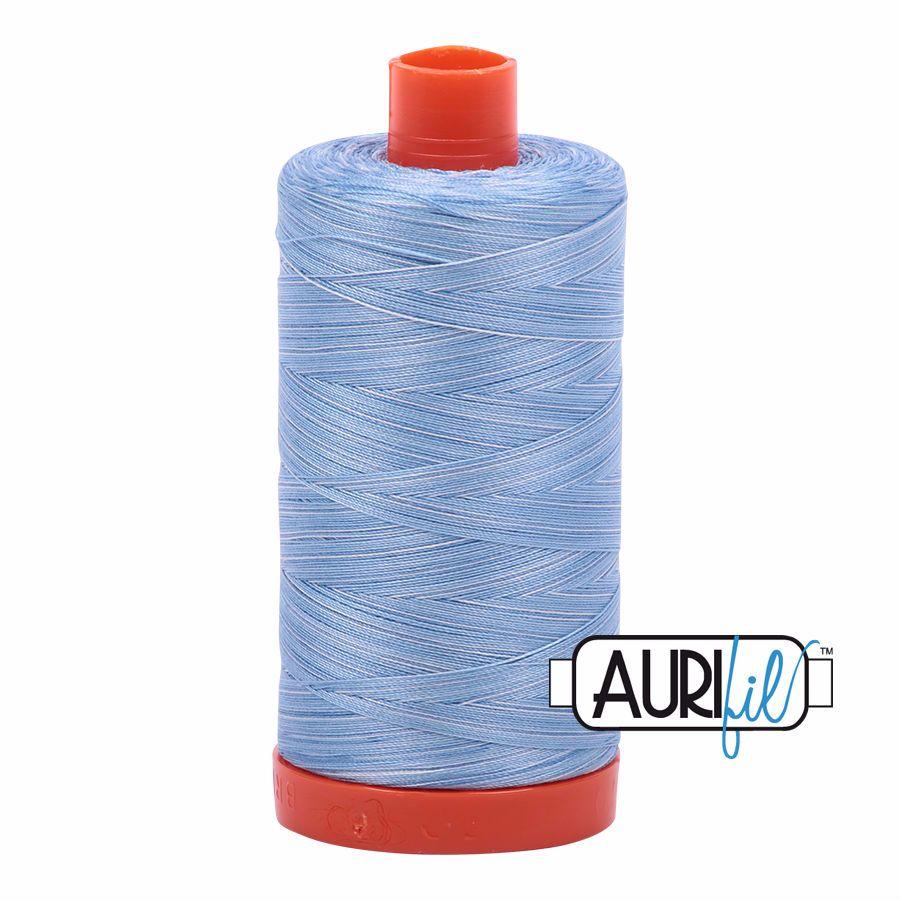 Aurifil Cotton 50wt, 3770 Stone Washed Denim