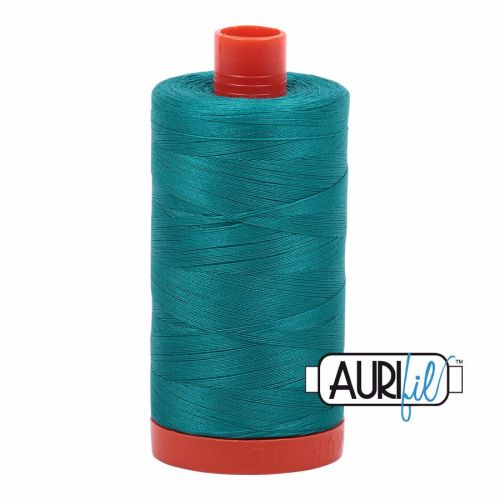 Aurifil Cotton 50wt, 4093 Jade