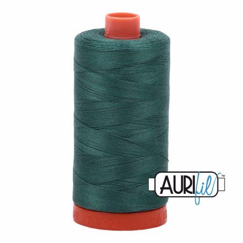 Aurifil Cotton 50wt, 4129 Turf Green