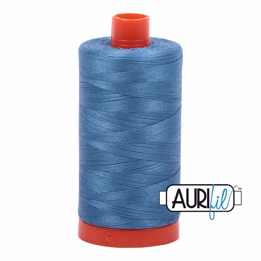 Aurifil Cotton 50wt, 4140 Wedgewood
