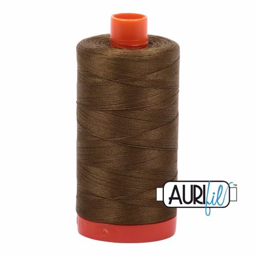 Aurifil Cotton 50wt, 4173 Dark Olive