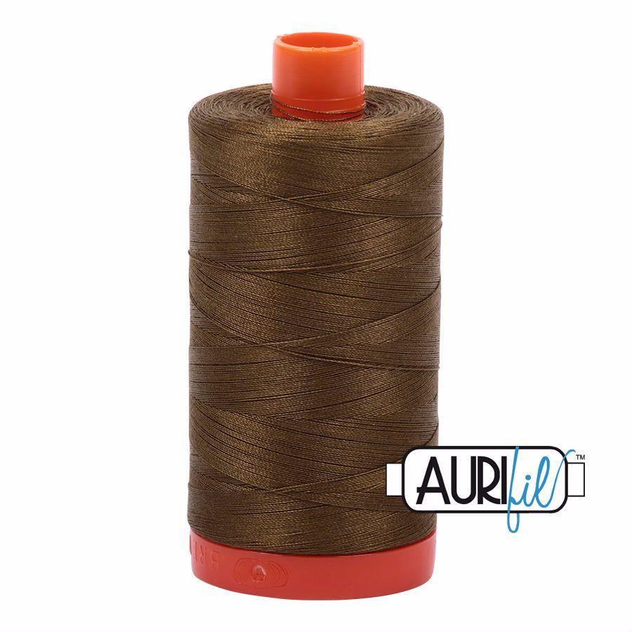 Aurifil Cotton 50wt, 4173 Dark Olive