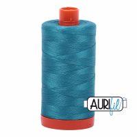 Aurifil Cotton 50wt, 4182 Dark Turquoise