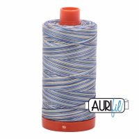 Aurifil Cotton 50wt, 4649 Lemon Blueberry