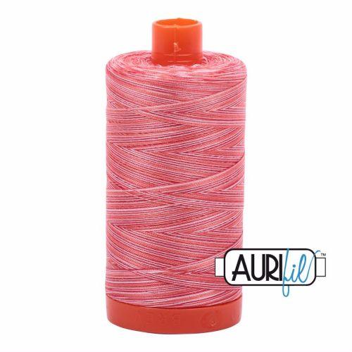 Aurifil Cotton 50wt, 4668 Strawberry Parfait