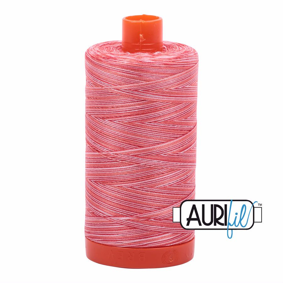Aurifil Cotton 50wt, 4668 Strawberry Parfait