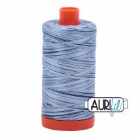 Aurifil Cotton 50wt, 4669 Stonewash Blues
