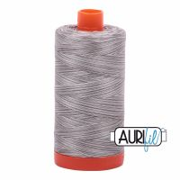 Aurifil Cotton 50wt, 4670 Silver Fox