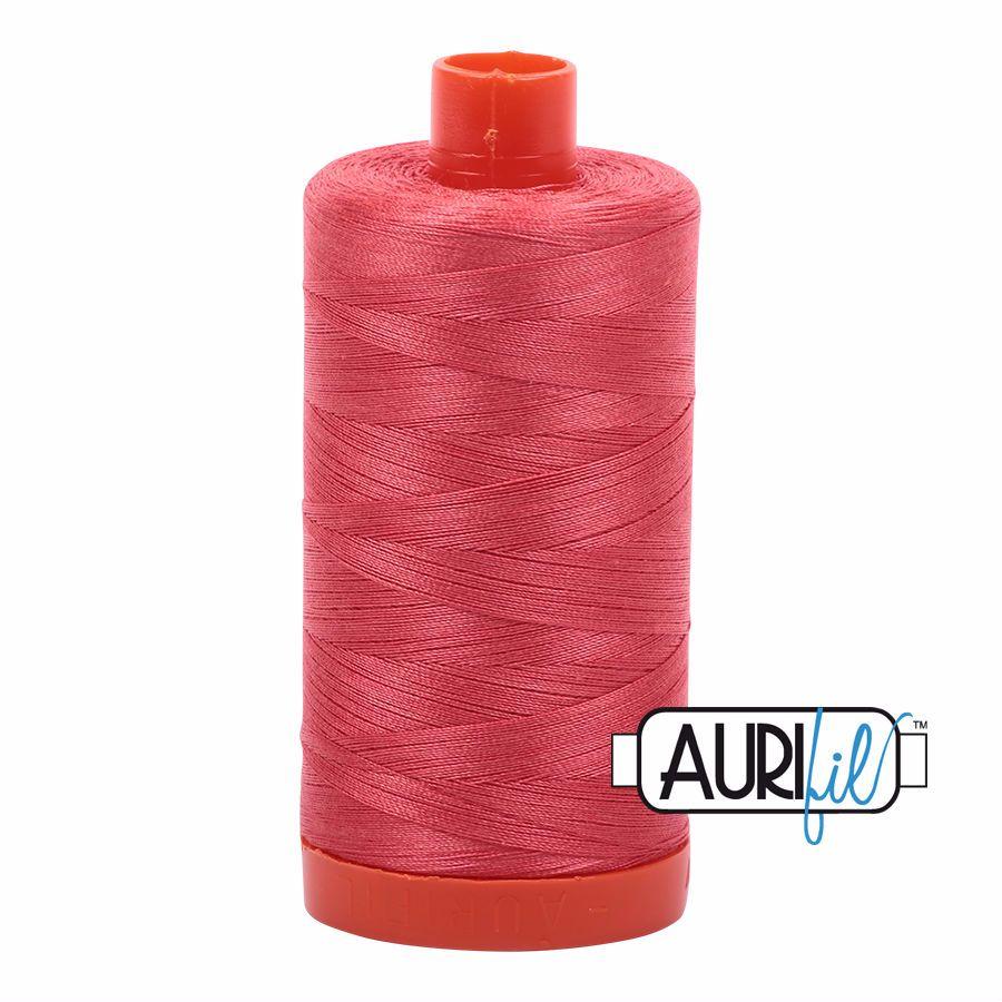 Aurifil Cotton 50wt, 5002 Medium Red
