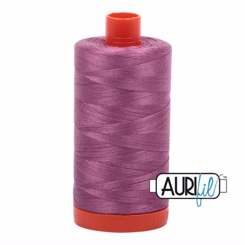 Aurifil Cotton 50wt, 5003 Wine