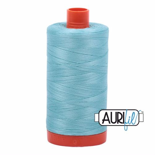 Aurifil Cotton 50wt, 5006 Light Turquoise