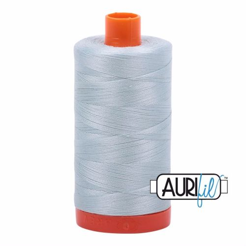 Aurifil Cotton 50wt, 5007 Light Grey Blue
