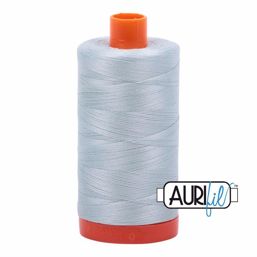 Aurifil Cotton 50wt, 5007 Light Grey Blue