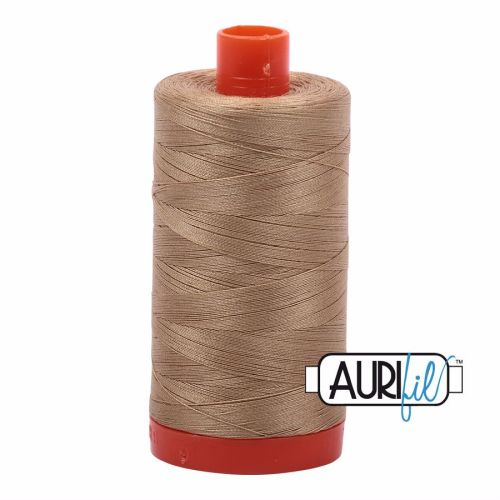 Aurifil Cotton 50wt, 5010 Blonde Beige