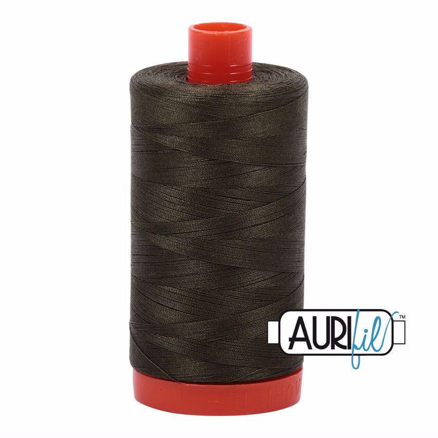 Aurifil Cotton 50wt, 5012 Dark Green