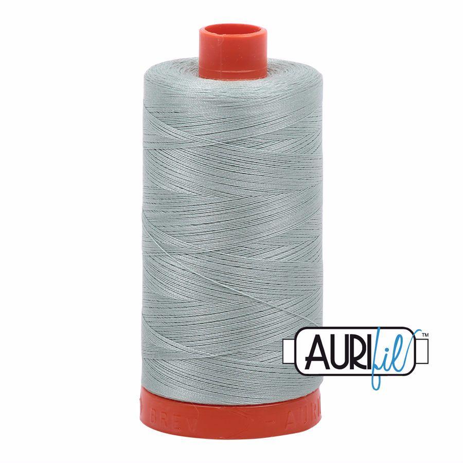 Aurifil Cotton 50wt, 5014 Marine Water