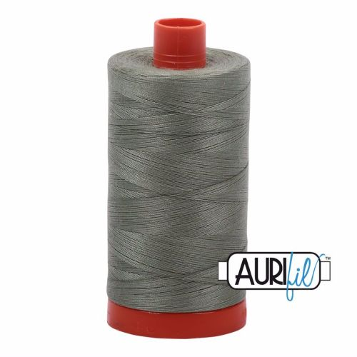 Aurifil Cotton 50wt, 5019 Military Green