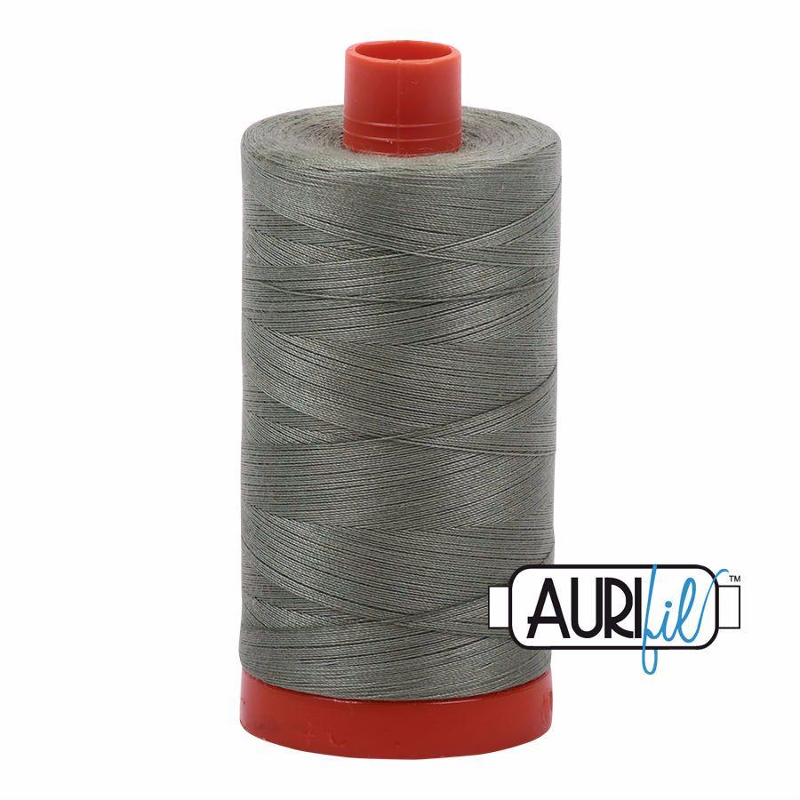 Aurifil Cotton 50wt, 5019 Military Green