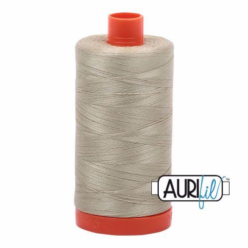 Aurifil Cotton 50wt, 5020 Light Military Green