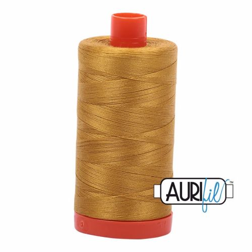 Aurifil Cotton 50wt, 5022 Mustard