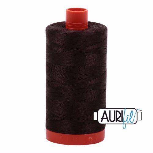 Aurifil Cotton 50wt, 5024 Dark Brown