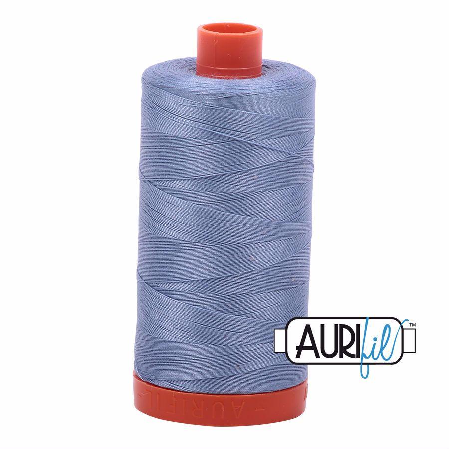 Aurifil Cotton 50wt, 6720 Slate