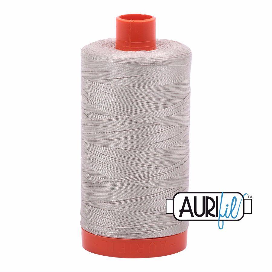 Aurifil Cotton 50wt, 6725 Moondust