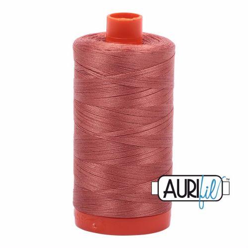 Aurifil Cotton 50wt, 6728 Cinnabar