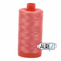 Aurifil Cotton 50wt, 6729 Tangerine Dream