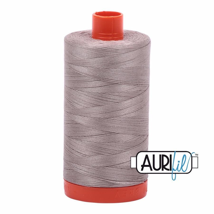 Aurifil Cotton 50wt, 6730 Steampunk