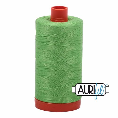 Aurifil Cotton 50wt, 6737 Shamrock Green
