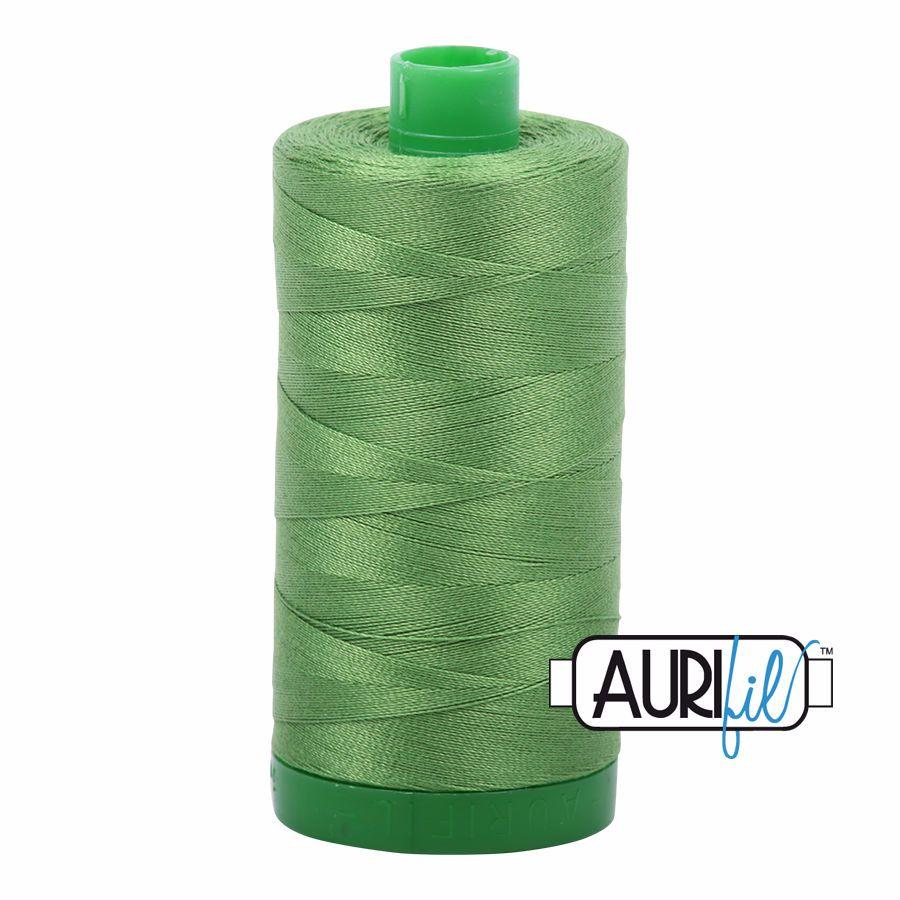 Aurifil Cotton 40wt, 1114 Grass Green