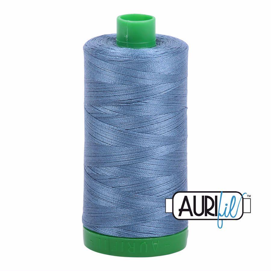 Aurifil Cotton 40wt, 1126 Blue Grey