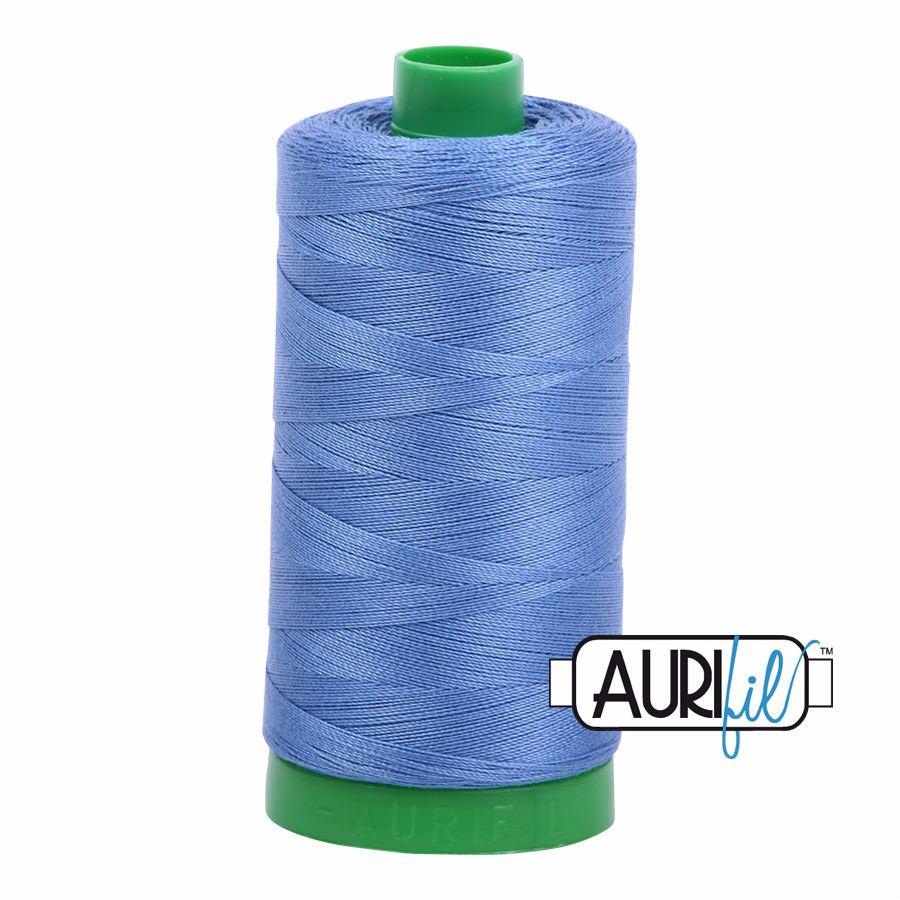 Aurifil Cotton 40wt, 1128 Light Blue Violet