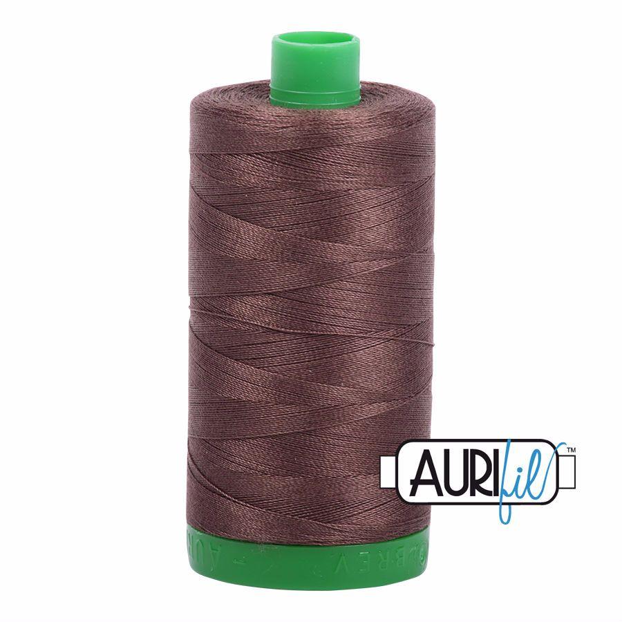 Aurifil Cotton 40wt, 1140 Bark