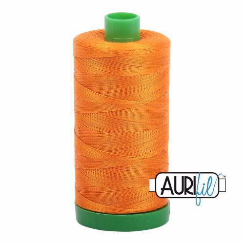 Aurifil Cotton 40wt, 1133 Bright Orange