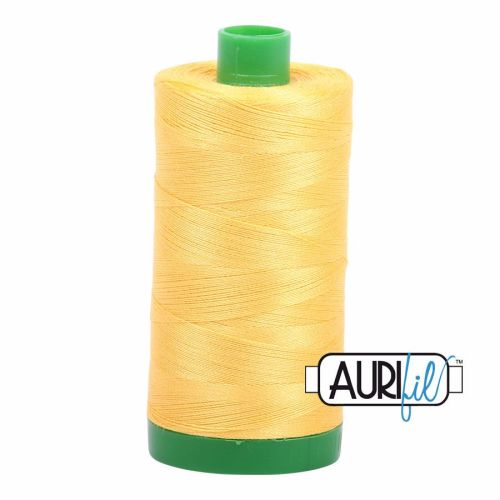 Aurifil Cotton 40wt, 1135 Pale Yellow