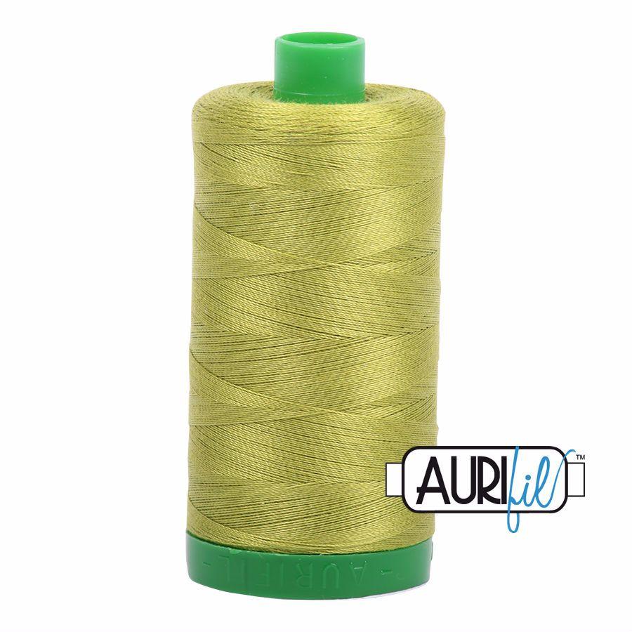 Aurifil Cotton 40wt, 1147 Light Leaf Green