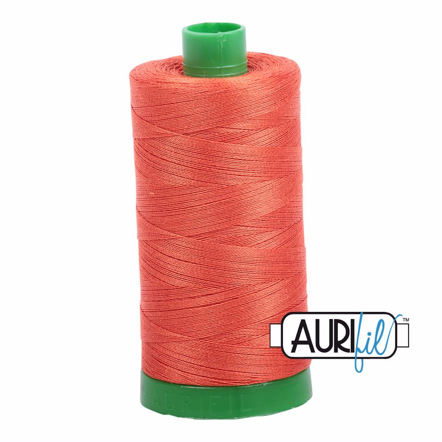 Aurifil Cotton 40wt, 1154 Dusty Orange