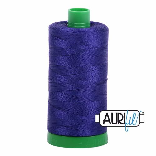 Aurifil Cotton 40wt, 1200 Blue Violet