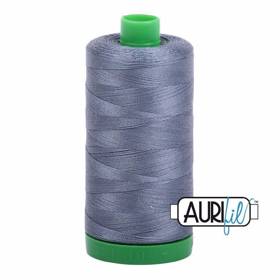 Aurifil Cotton 40wt, 1246 Dark Grey