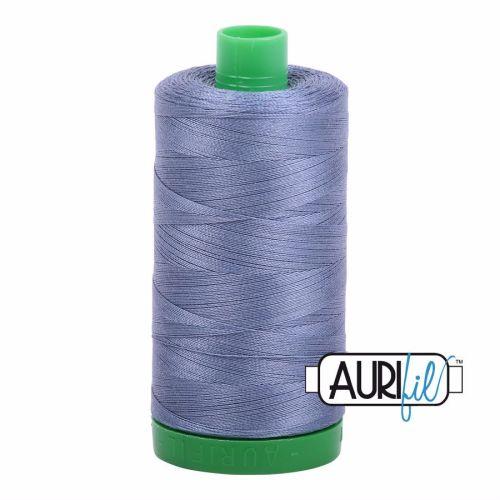 Aurifil Cotton 40wt, 1248 Dark Grey Blue