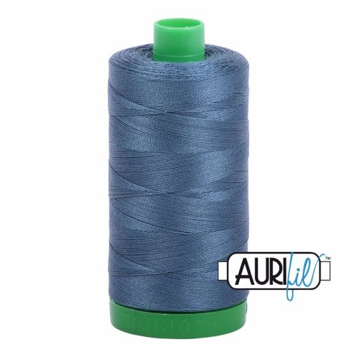 Aurifil Cotton 40wt, 1310 Medium Blue Grey