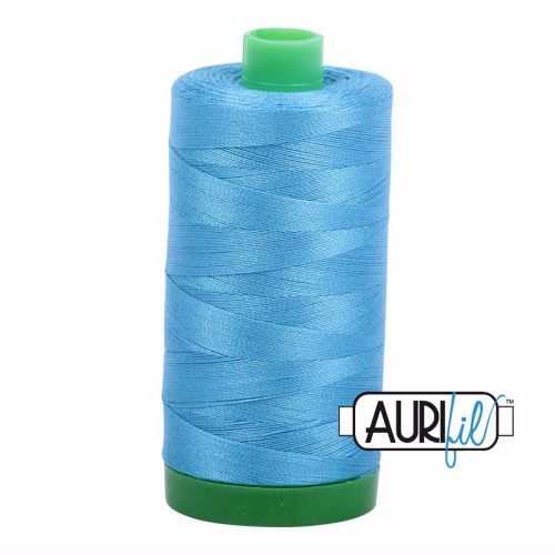 Aurifil Cotton 40wt, 1320 Bright Teal