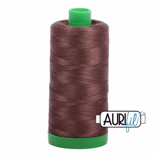 Aurifil Cotton 40wt, 1285 Medium Bark