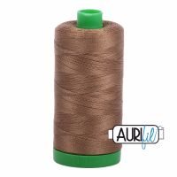 Aurifil Cotton 40wt, 1318 Dark Sandstone