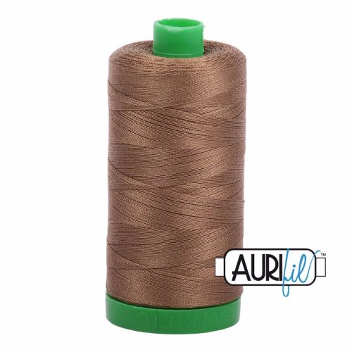 Aurifil Cotton 40wt, 1318 Dark Sandstone