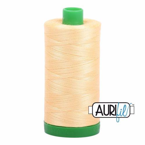 Aurifil Cotton 40wt, 2130 Medium Butter